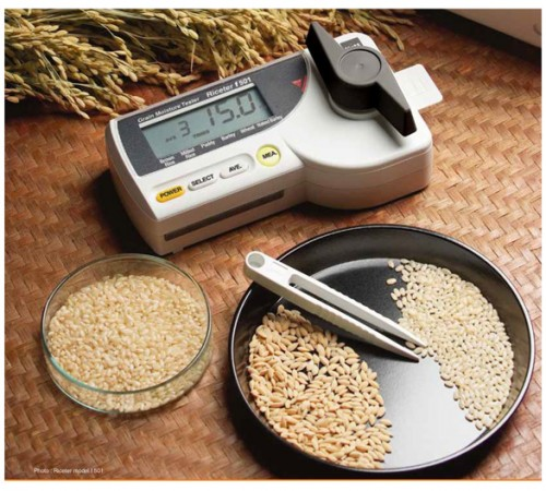 Máy đo độ ẩm gạo F511