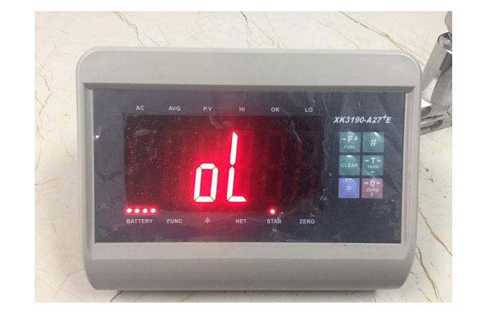 5 lỗi thường gặp trong quá trình sử dụng cân điện tử
