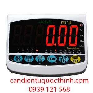 Cân điên tử Jadever: Đầu cân điện tử JWI-710