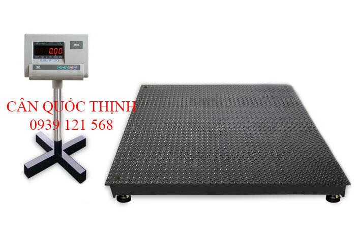 Cân sàn điện tử 1 tấn A12E