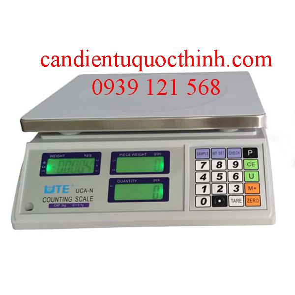 Hướng dẫn sử dụng cân đếm điện tử UTE UCA-N