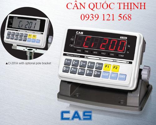 Hướng dẫn sử dụng cân điện tử CAS CI-200A/201A