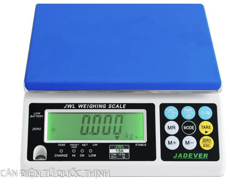 Hướng dẫn sử dụng cân điện tử Jadever JWL