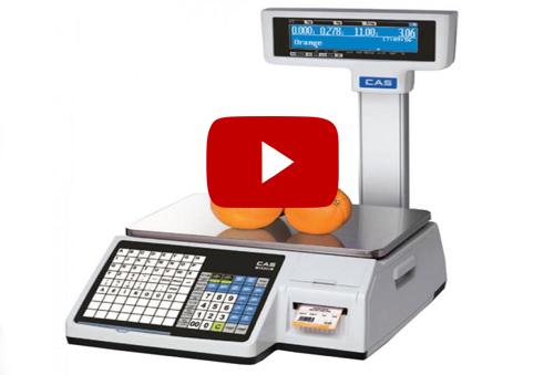 VIDEO: Cân điện tử CAS CL5200